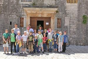 Летний лагерь Хорватия 2010 год